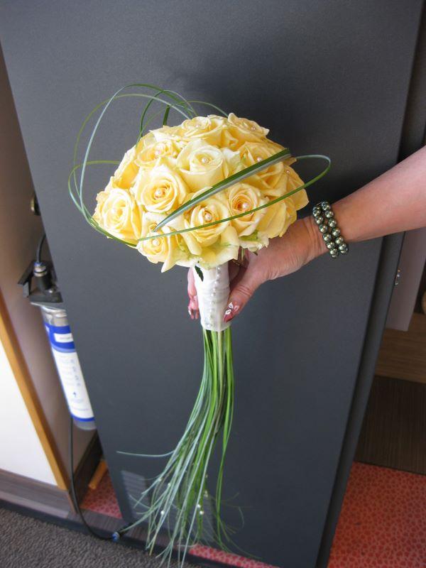 Свадебный букет на своей ножке мастер класс, цветы тушино